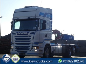 Container transporter/ swap body truck Scania R450 tl 6x2*4 standklima: picture 1