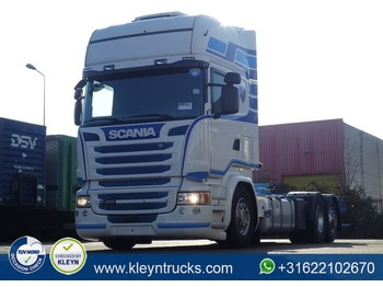 Container transporter/ swap body truck Scania R450 tl 6x2*4 standklima