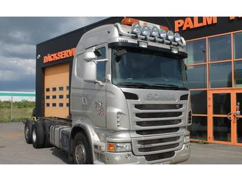 Leasing Scania R480LB6X2*4HNB Euro 5  - container transporter/ swap body truck