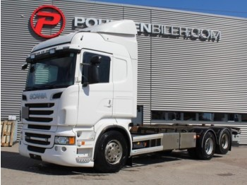Container transporter/ swap body truck Scania R500