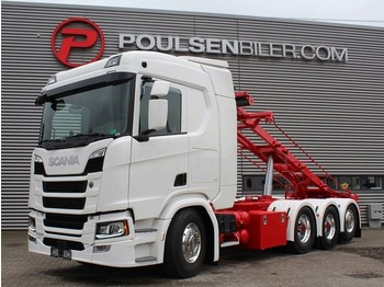 Container transporter/ swap body truck Scania R500 8x4*4