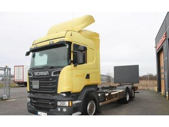 Scania R520 EURO 6 Ny besiktigad  - container transporter/ swap body truck