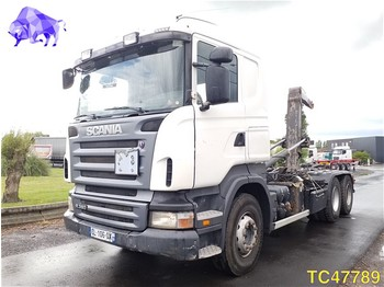 Container transporter/ swap body truck Scania R 380 Euro 4 RETARDER