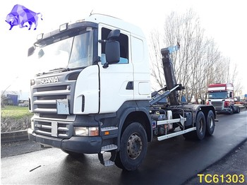 Scania R 380 Euro 4 RETARDER - container transporter/ swap body truck