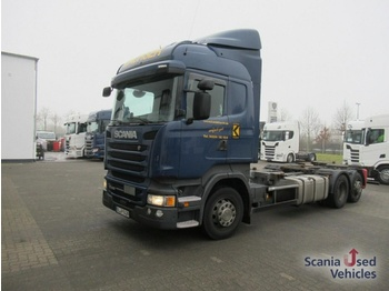 Scania R 410 LB6x2MNB Highline Euro 6 SCR only - container transporter/ swap body truck