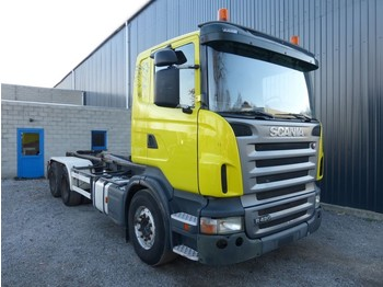 Scania R 420 - container transporter/ swap body truck