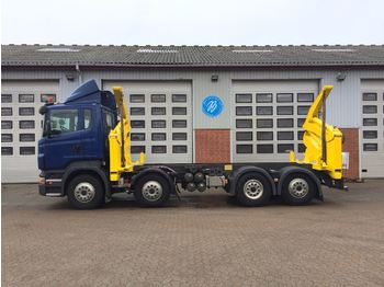 Container transporter/ swap body truck Scania R 420 LB8X2*6HNB