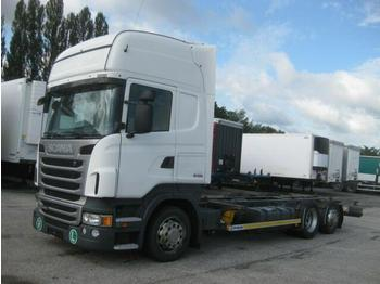 Container transporter/ swap body truck  Scania - R 440 Jumbo BDF 7.82 EEV