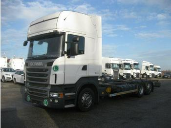 Container transporter/ swap body truck Scania - R 440 Jumbo BDF EEV