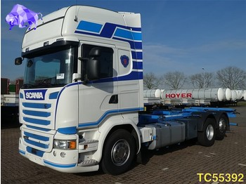 Container transporter/ swap body truck Scania R 450 Euro 6 RETARDER