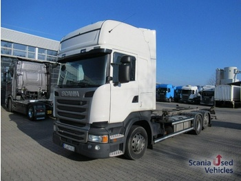 Container transporter/ swap body truck Scania R 450 LB6x2*4MNB SCR only LBW Topline Lenk Lift Ac: picture 1
