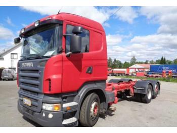 Container transporter/ swap body truck Scania R 480