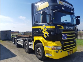 Scania R 480 Topline 8X2 - container transporter/ swap body truck
