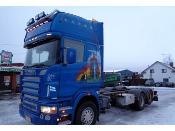 Container transporter/ swap body truck Scania R 500