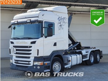 Scania R 560 6X2 Steering-Axle Retarder V8 Euro 5 - container transporter/ swap body truck