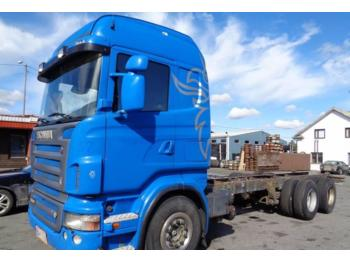 Scania R 580 LB  - container transporter/ swap body truck