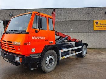 Steyr 19S32 - container transporter/ swap body truck