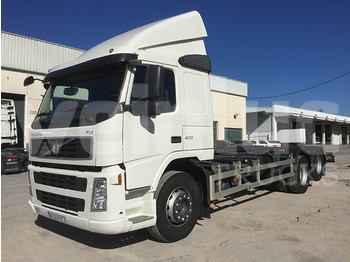 Container transporter/ swap body truck VOLVO FM 62 B3 400 A8
