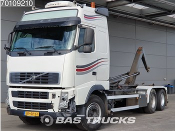 Container transporter/ swap body truck Volvo FH12 460 Unfall 6X2 Liftachse Standklima Euro 3