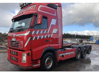 Container transporter/ swap body truck Volvo FH12 tridem