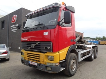 Container transporter/ swap body truck Volvo FH 12 380 6x4 manual top