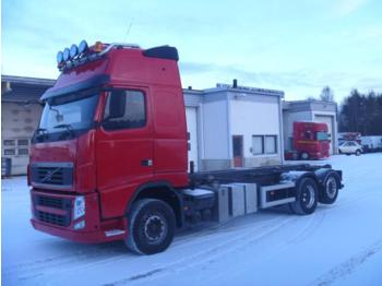 Volvo FH 13 520 6X2 EURO 5 - container transporter/ swap body truck
