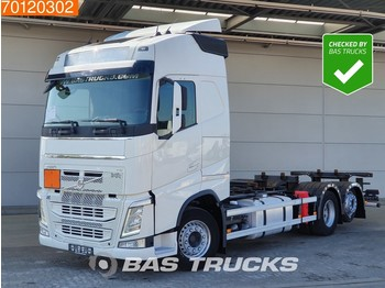 Container transporter/ swap body truck Volvo FH 420 6X2 VEB+ Liftachse Euro 6
