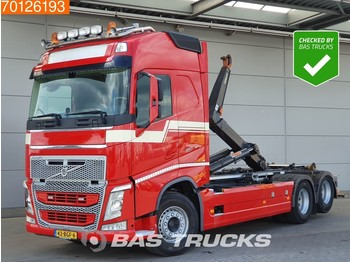 Container transporter/ swap body truck Volvo FH 460 6X2 VEB+ Liftachse Euro 6