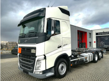 Container transporter/ swap body truck Volvo FH 460 / Automatik / Liftachse / Euro 6