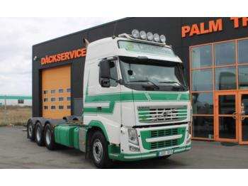 Container transporter/ swap body truck Volvo FH-480 8X4: picture 1