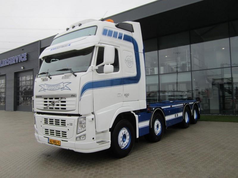 Volvo FH 500 EEV 8X2, SPECIAL INTERIOR, CONTAINER container ...