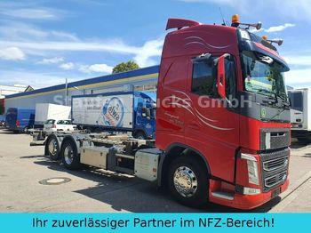 Container transporter/ swap body truck Volvo FH 500 Globe BDF 6X2 RETARDER f. alle Brücken !