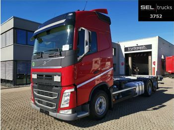Volvo FH 500 / Liftachse/ I-Shift Dual Clutch / German  - container transporter/ swap body truck