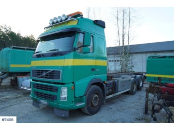 Container transporter/ swap body truck Volvo FH 520