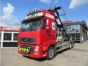Container transporter/ swap body truck Volvo FH 540 6X2 + CONTAINER SYSTEEM