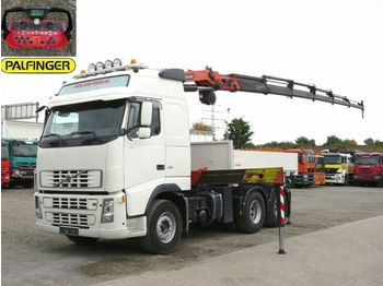Volvo FH FH 480 Sattelzugmaschine / Kran 27m/t+Funk  - container transporter/ swap body truck