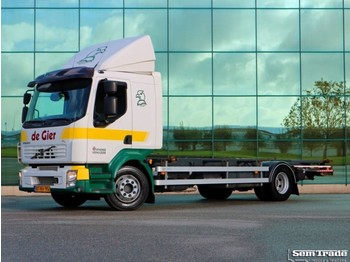 Volvo FL 12.280 CITIPRO EURO 5 AIRCO MANUAL GEARBOX - container transporter/ swap body truck