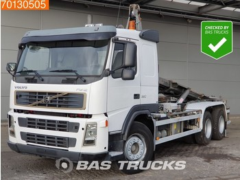 Container transporter/ swap body truck Volvo FM12 380 6X4 Manual Steelsuspension Euro 3