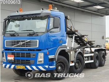 Volvo FM12 380 8X4 Manual Big-Axle Steelsuspension Euro 3 - container transporter/ swap body truck