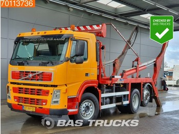Container transporter/ swap body truck Volvo FM9 300 6X2 Manual Lift+Lenkachse Euro 5