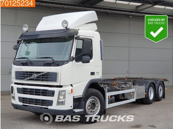 Container transporter/ swap body truck Volvo FM 380 6X2 Steering-Axle Euro 5
