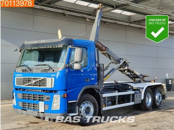 Container transporter/ swap body truck Volvo FM 420 6X2 Steering-axle Euro 5