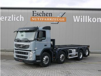 Container transporter/ swap body truck Volvo FM 420, 8x2, Kippchassis, Cont. verriegelung