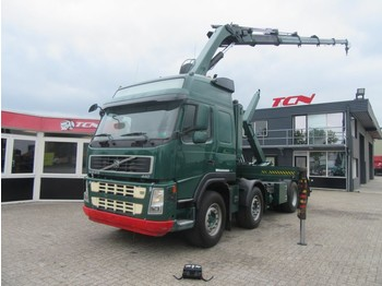 Container transporter/ swap body truck Volvo FM 440 EURO 5 - HIAB 244-5 - HOOKLIFT
