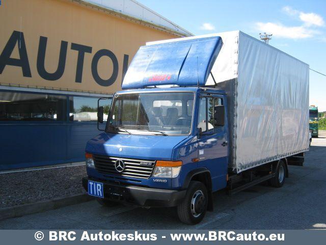 Mercedes benz vario 616 d curtainsider truck from estonia for Mercedes benz vario 4x4 for sale