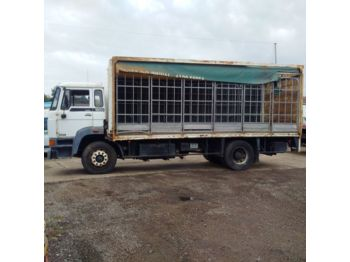 DAF 1900 left hand drive Turbo Intercooler 17.5 ton on springs - curtainsider truck