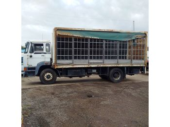DAF 1900 left hand drive Turbo Intercooler 17.5 ton on springs with - curtainsider truck