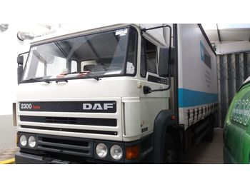 Curtainsider truck DAF 2300 Turbo left hand drive 19 ton ZF manual