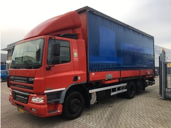 DAF 75 CF 250 borden - curtainsider truck