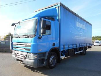 Curtainsider truck DAF CF75 310: picture 1